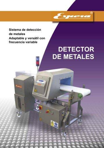 DETECTOR DE METALES - Espera.com