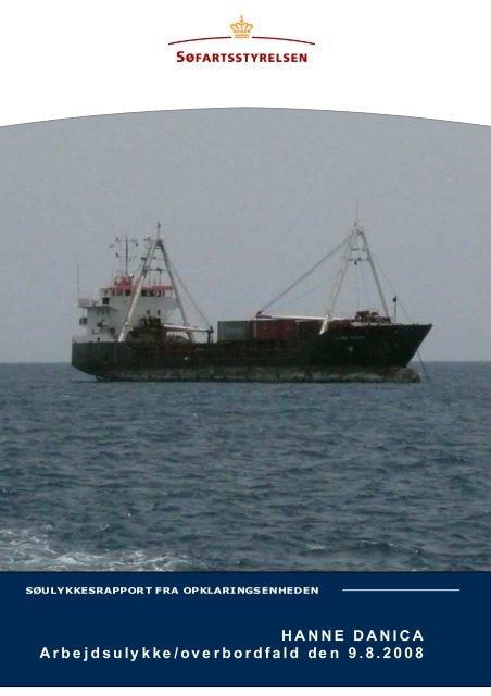 HANNE DANICA rapport - Søfartsstyrelsen