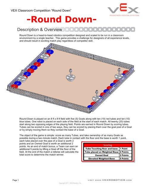 Round Down - VEX Robotics