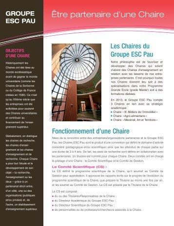 Comment devenir partenaire - ESC Pau