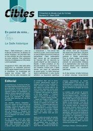 En point de mire... La Salle historique Editorial