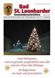 (3 56 MB) - - Stadtgemeinde Bad Sankt Leonhard im Lavanttal