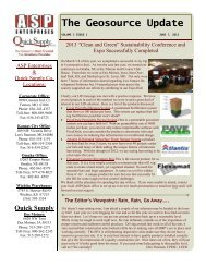 Volume 5- Issue 1-June 2013 - A.S.P. Enterprises, Inc