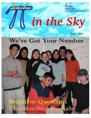 We've Got Your Number - Canadian Mathematical Society