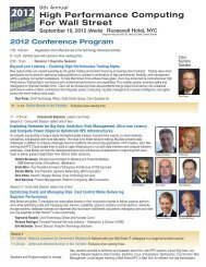2012 Attendee Brochure (PDF) - Flagg Management Inc