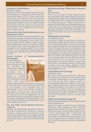 Book News 76 Prehistory - Oxbow Books