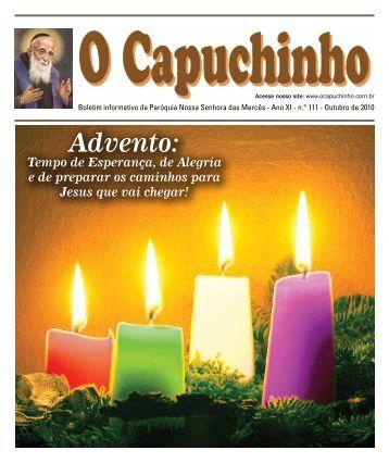 """Jornal """"O Capuchinho"""" - novembro de 2010 - Paróquia Nossa ..."""