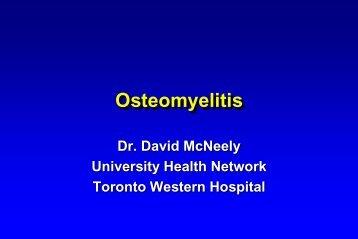 Osteomyelitis - Infectious Diseases