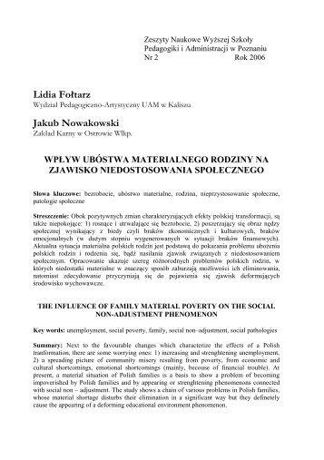 Lidia Fołtarz Jakub Nowakowski
