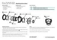 Mounting Instructions - P+S TECHNIK