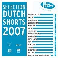 Selected Dutch Shorts 2007 - Holland Film