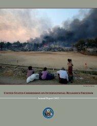 2013 USCIRF Annual Report (2)
