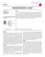 Bilateral superficial brachial artery – a case report - IJAV ...