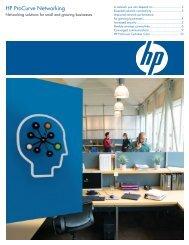HP ProCurve Networking
