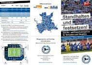 Standhalten und festsetzen! - DSC Arminia Bielefeld