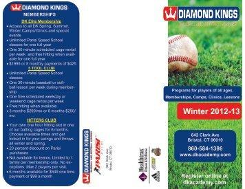 Winter 2012-13 - Diamond Kings