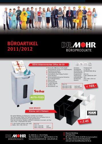 BÜROARTIKEL 2011/2012