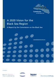 A 2020 Vision for the Black Sea Region