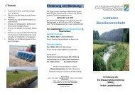 Gewässerschutz - Amt für Ernährung, Landwirtschaft und Forsten ...