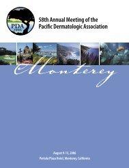 PDA - Pacific Dermatologic Association