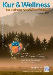 November 2009 - Bad Steben