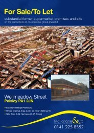 For Sale/To Let - The Co-operative