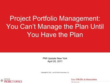 Project Portfolio Management - UNY PMI: Home