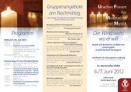 Uracher Forum und Mystik für Meditation