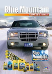 Download the Blue Mountain Professional Product ... - Smits Group