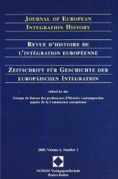2000, Volume 6, N°1 - Centre d'études et de recherches ...
