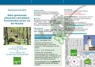 Forschendes Lernen vor der Haustür - AECC-Bio - Universität Wien