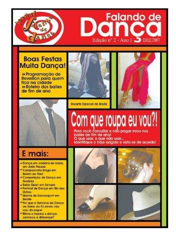 Ed. 002 - Agenda da Dança de Salão