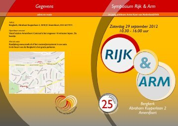 Symposium Rijk & Arm Gegevens - De Roerom