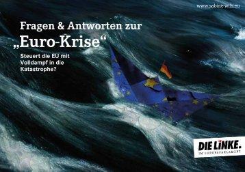 Fragen und Antworten zur Euro-Krise - Sabine Wils