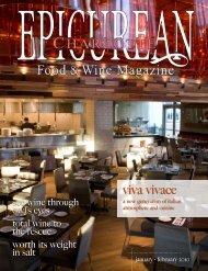 viva vivace - Epicurean Charlotte Food & Wine Magazine