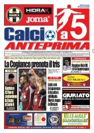 calcio a 5 36/12 NAZ - Calcio a 5 Anteprima