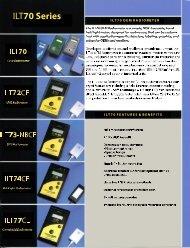 ILT70 Series Meters Brochure