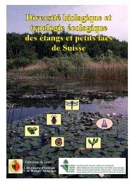 Diversité biologique et typologie écologique des étangs et petits ...