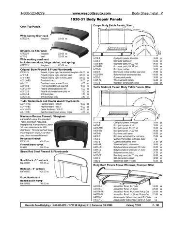 Ford Body Repair Panels, Ford, Free Engine Image For User