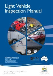 Light Vehicle Inspection Manual - Transport