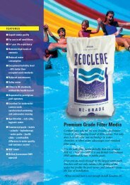 Premium Grade Filter Media - Swimming Pools