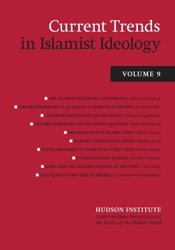 CT 9:Layout 1 - Current Trends in Islamist Ideology