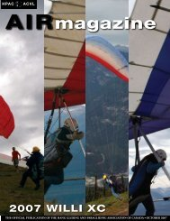 2007-10 - Hang Gliding and Paragliding Association of Canada