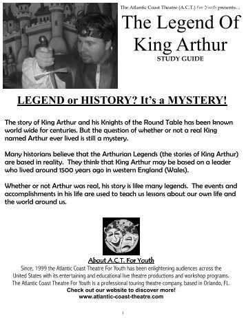 a literary analysis of the legend of king arthur The legend of king arthur plot synopsis  english literature: king arthur (final  analysis) presentation jhaiusa literature form 1 - king arthur.