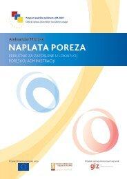 NAPLATA POREZA - Stalna konferencija gradova i opština
