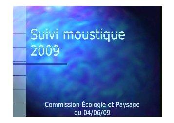 Suivi moustique Suivi moustique 2009 - Sivoa