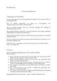 Inka Mülder-Bach Verzeichnis der Publikationen I. Monographien ...
