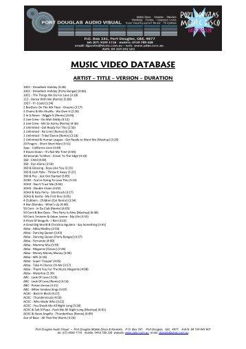 PDF Download - Port Douglas Audio Visual
