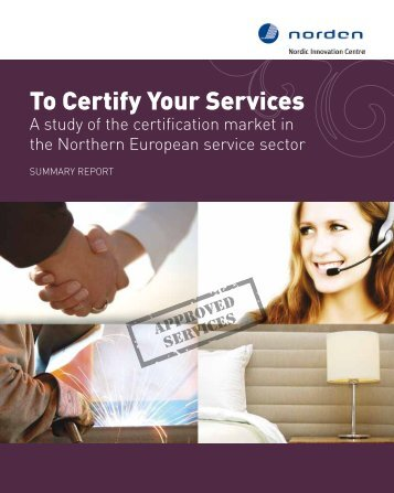 To Certify Your Services - Menon