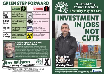 Download the election leaflet. - Sheffield Green Party